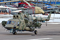"Helicopter-DataBase Photo ID:14800 Mi-8AMTSh-V ""Bosfor-2"" Russian Air Force 7507 yellow cn:8AMTS00643147507U"