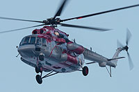 Helicopter-DataBase Photo ID:16139 Mi-8AMT Rostvertol 771 black cn:8AMT00643187710U