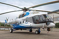 Helicopter-DataBase Photo ID:10465 Mi-8AMT PROGRESS aircraft production facility at Arsenyev 817 black cn:8AMT00643137361U