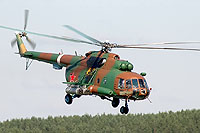 Helicopter-DataBase Photo ID:8796 Mi-8MTV-2 Russian Ministry of the Interior 88 yellow cn:95385