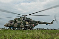 Helicopter-DataBase Photo ID:16373 Mi-8AMTSh Russian Air Force RF-04456
