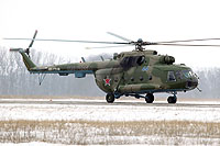 Helicopter-DataBase Photo ID:11396 Mi-8MT Russian Air Force RF-17566 cn:93821