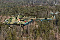 Helicopter-DataBase Photo ID:17113 Mi-8MTV-5-1 Russian Air Force RF-24776 cn:97308