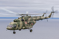 Helicopter-DataBase Photo ID:14608 Mi-8MTV-5 Russian Air Force RF-24777 cn:97309