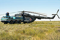Helicopter-DataBase Photo ID:9747 Mi-8MB Russian Air Force RF-90415 cn:94085