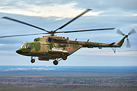 Helicopter-DataBase Photo ID:16975 Mi-8MTV-5-1 Russian Air Force RF-90811 cn:96726