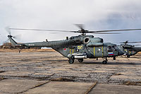 Helicopter-DataBase Photo ID:12543 Mi-8AMTSh Russian Air Force RF-91158 cn:8AMTS00643105504U