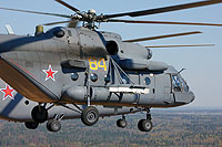 Helicopter-DataBase Photo ID:11444 Mi-8MTV-5-1 Russian Air Force RF-91184 cn:97033