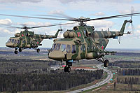 Helicopter-DataBase Photo ID:16978 Mi-8AMTSh Russian Aerospace Force RF-91417 cn:8AMTS00643136607U