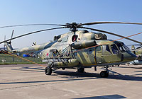 Helicopter-DataBase Photo ID:7092 Mi-8AMTSh Russian Air Force RF-93129 cn:8AMTS00643104701U