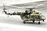 Helicopter-DataBase Photo ID:17474 Mi-8AMTSh-V Russian Air Force RF-95594 cn:8AMTS00643137402U