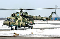 Helicopter-DataBase Photo ID:15457 Mi-8AMTSh-V Russian Air Force RF-95606 cn:8AMTS00643147415U