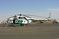 Helicopter-DataBase Photo ID:2602 Mi-17 Green Flag ST-GFC cn:212M147