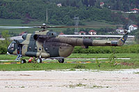 Helicopter-DataBase Photo ID:10731 Mi-8MTV-1 Air Force and Air Defence of Bosnia and Herzegovina A-2607 cn:95967