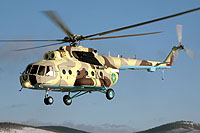 Helicopter-DataBase Photo ID:10187 Mi-171Sh Kazakhstan Border Guard 16 yellow cn:171S00398137341U