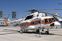 Helicopter-DataBase Photo ID:12665 Mi-171E Kazaviaspas of the EMERCOM of the Kazakh Republic UP-MI703 cn:171E00398147489U