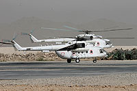 Helicopter-DataBase Photo ID:8640 Mi-8MTV-1 unknown UP-MI810