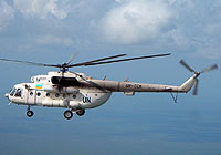 Helicopter-DataBase Photo ID:5013 Mi-8MTV-1 United Nations UR-CCM cn:95002