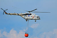 Helicopter-DataBase Photo ID:13960 Mi-8AMT National Disaster Management Authority UR-CMU cn:8AMT00804092602U