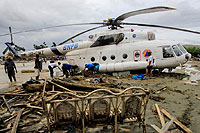 Helicopter-DataBase Photo ID:15546 Mi-17-1V (upgrade by LOM) National Disaster Management Authority UR-CMZ cn:108M40