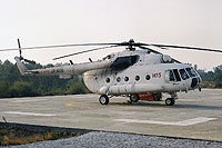 Helicopter-DataBase Photo ID:15329 Mi-8MTV unknown UR-MOS cn:95353