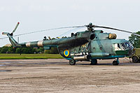 Helicopter-DataBase Photo ID:11627 Mi-8MT Ukrainian Army Aviation 40 yellow cn:95304