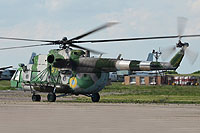 Helicopter-DataBase Photo ID:11626 Mi-8MT Ukrainian Army Aviation 57 yellow cn:95403