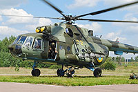 Helicopter-DataBase Photo ID:11616 Mi-8MT Ukrainian Army Aviation 62 yellow cn:94239