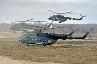 Helicopter-DataBase Photo ID:15164 Mi-8MTV Ukrainian Army Aviation 645