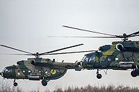 Helicopter-DataBase Photo ID:15163 Mi-8MTV Ukrainian Army Aviation 654