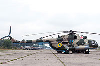 Helicopter-DataBase Photo ID:14418 Mi-8MT Ukrainian Air Force 69 blue cn:95198