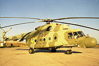 Helicopter-DataBase Photo ID:6198 Mi-8MTYu Ukrainian Air Force 80 red