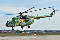Helicopter-DataBase Photo ID:15166 Mi-8MT Ukrainian Air Force 87 yellow cn:95197