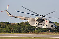 Helicopter-DataBase Photo ID:11225 Mi-8MTV-1 Mexican Navy ANX-2203 cn:96033