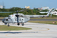 Helicopter-DataBase Photo ID:13423 Mi-8MTV-1 (upgrade by AviaBaltika 2) Mexican Navy ANX-2219 cn:96614