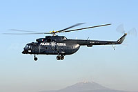 Helicopter-DataBase Photo ID:11187 Mi-8MTV-1 Mexican Federal Police PF-202 cn:95582