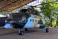 Helicopter-DataBase Photo ID:16964 Mi-8MTV-1 Royal Cambodian Air Force MH-802 cn:95929