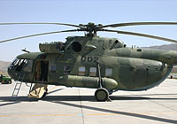 Helicopter-DataBase Photo ID:8408 Mi-8MTV-1 (upgrade by ATE) Afghan National Army Air Force 002 cn:9358.