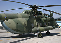 Helicopter-DataBase Photo ID:8409 Mi-8MTV-1 (upgrade by ATE) Afghan National Army Air Force 002 cn:9358.