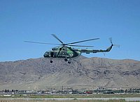 Helicopter-DataBase Photo ID:464 Mi-8MTV Afghan Air Force 522