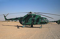 Helicopter-DataBase Photo ID:843 Mi-8MTV Afghan Air Force 522