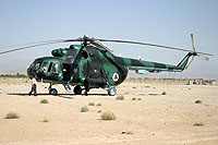 Helicopter-DataBase Photo ID:857 Mi-8MTV Afghan Air Force 522