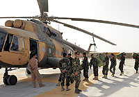 Helicopter-DataBase Photo ID:5832 Mi-8MTV Afghan National Army Air Force 522