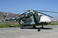 Helicopter-DataBase Photo ID:15006 Mi-8MT Afghan Air Force 569