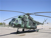 Helicopter-DataBase Photo ID:2151 Mi-8MT Afghan Air Force 570