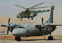 Helicopter-DataBase Photo ID:3336 Mi-8MT Afghan Air Force 570