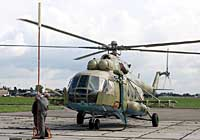 Helicopter-DataBase Photo ID:2973 Mi-17 (upgrade for Afghanistan) LOM Praha s.p. 571 cn:108M16