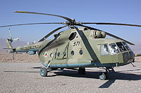 Helicopter-DataBase Photo ID:6667 Mi-17 (upgrade for Afghanistan) Afghan National Army Air Force 571 cn:108M16