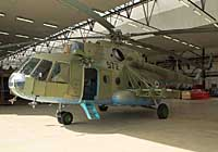 Helicopter-DataBase Photo ID:2967 Mi-17 (upgrade for Afghanistan) LOM Praha s.p. 572 cn:108M30