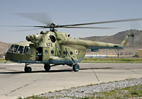 Helicopter-DataBase Photo ID:3337 Mi-17 (upgrade for Afghanistan) Afghan National Army Air Force 572 cn:108M30